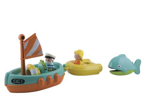 """Набор для ванны """"Лодка с капитаном"""" Image"""