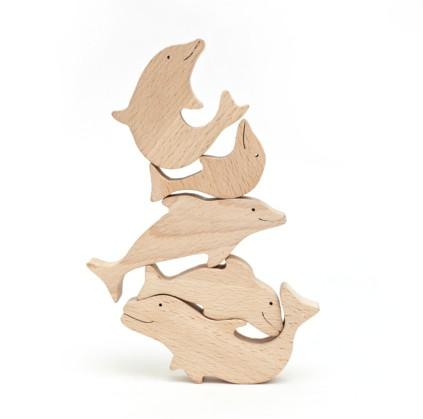 """Пирамидка """"Дельфинчики"""" Image"""