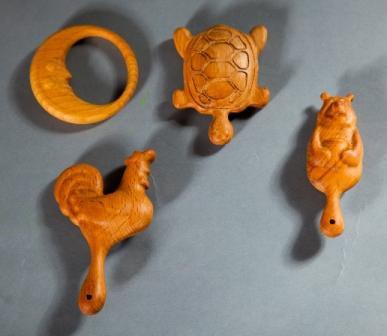 Месяц, Черепаха Соня, Петушок Золотой Гребешок, Мишаня Image
