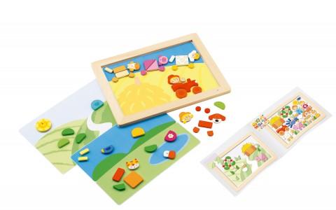 """Puzzle """"Magnet Puzzle Farm"""" Image"""