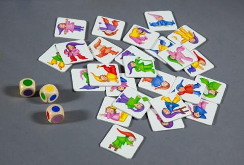 Разноцветные гномы Image