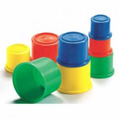 Развивающие разноцветные стаканчики Image