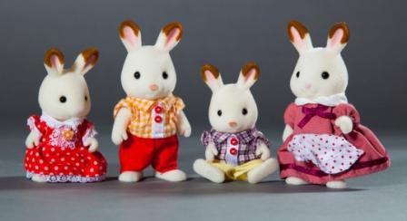 Семья шоколадных кроликов Image