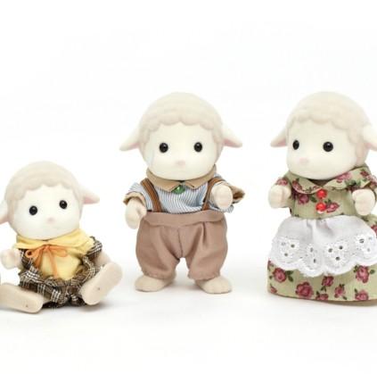 Семья животных (ежи и овечки) Image